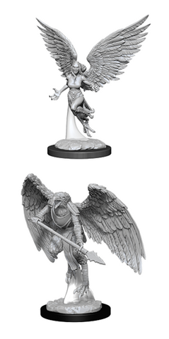 Dungeons & Dragons Nolzur's Marvelous Miniatures: HARPY AND ARAKOCRA