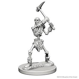 D&D Nolzur'S Marvelous Miniatures (Primed): Skeleton - Roleplaying Games - The Hooded Goblin