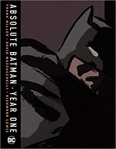 Absolute Batman Year One Hardcover - Graphic Novel - The Hooded Goblin