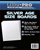 Silver Age Size Boards 100 Count