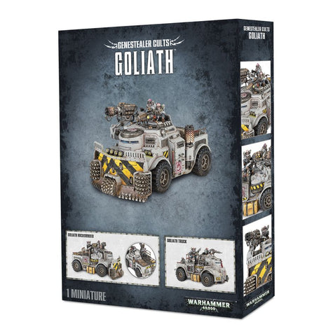 Genestealer Cult Goliath Truck / Rockgrinder