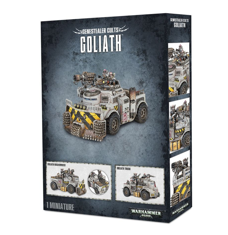 Genestealer Cult Goliath Truck / Rockgrinder - Warhammer: 40k - The Hooded Goblin
