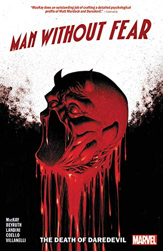Man Without Fear: The Death of Daredevil Paperback - Graphic Novel - The Hooded Goblin