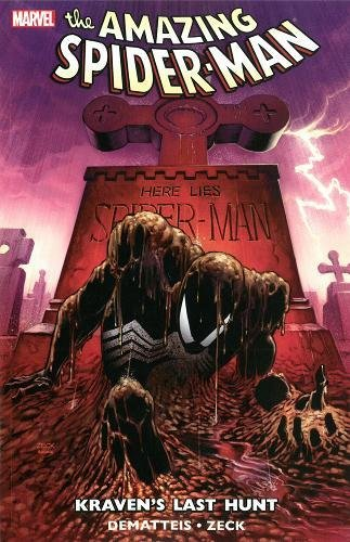 Spider-Man: Kraven'S Last Hunt Paperback - Graphic Novel - The Hooded Goblin