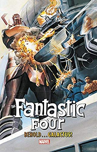 Fantastic Four: Behold...Galactus! Paperback - Graphic Novel - The Hooded Goblin