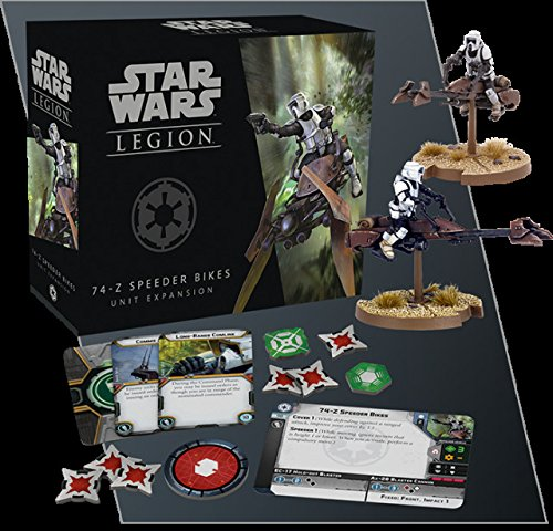 Star Wars Legion: 74Z Speeder Bikes Unit Expansion - Star Wars Legion - The Hooded Goblin
