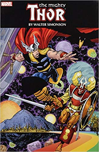 The Mighty Thor by Walt Simonson Omnibus Hardcover - Graphic Novel - The Hooded Goblin