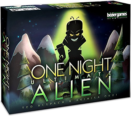 One Night Ultimate Alien - Card Game - The Hooded Goblin