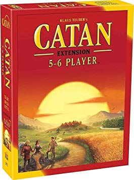 CATAN 5TH EDITION - BASE GAME 5-6 PLAYER EXTENSION