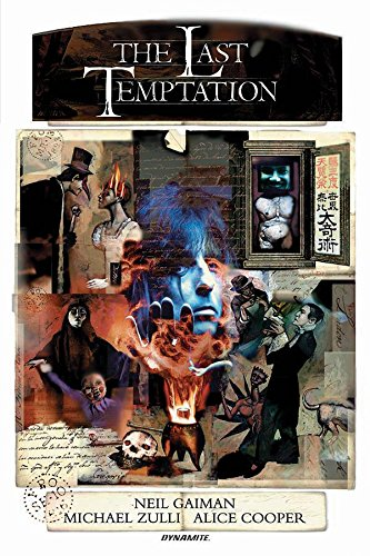 Neil Gaiman'S The Last Temptation 20Th Anniversary Edition Hardcover - Graphic Novel - The Hooded Goblin