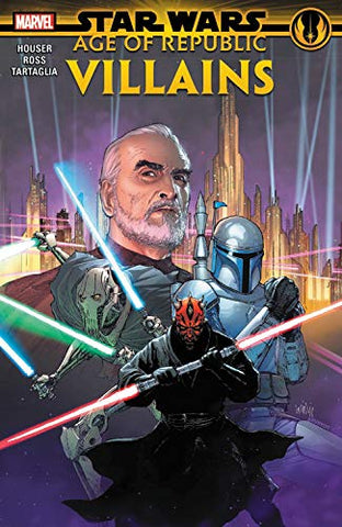 Star Wars: Age of the Republic - Villains Paperback