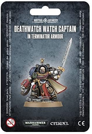 Deathwatch Watch Captain in Terminator Armour - Warhammer: 40k - The Hooded Goblin