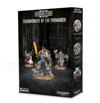 Triumvirate Of The Primarch - Warhammer: 40k - The Hooded Goblin