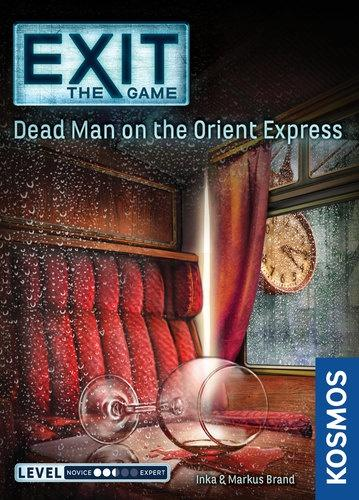 EXIT THE GAME - DEAD MAN ON THE ORIENT EXPRESS - Board Game - The Hooded Goblin