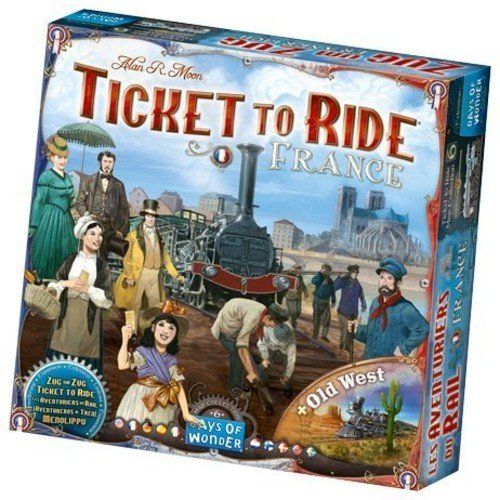 Ticket To Ride Map Collection: Volume 6 – France & Old West - Board Game - The Hooded Goblin