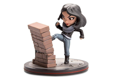 Quantum Mechanix Marvel's Jessica Jones as seen on Netflix Qmx Q-Fig Action Figure Loot Crate Exclusive April 2017
