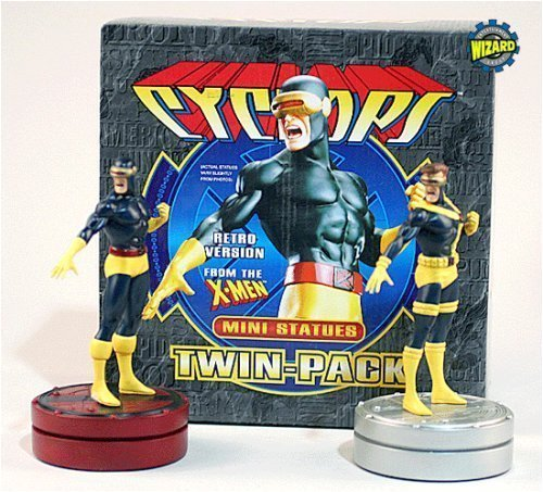 Cyclops Twin Pack Mini Statues By Bowen Designs The