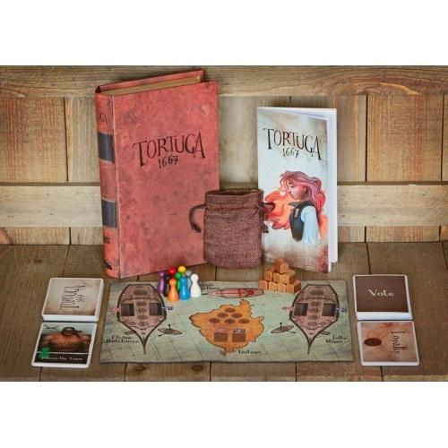 TORTUGA 1667 - Board Game - The Hooded Goblin