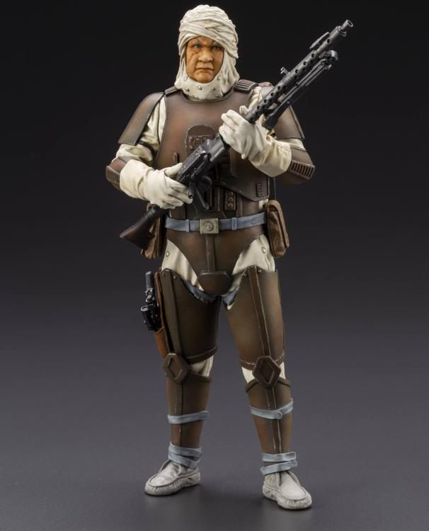 Star Wars Bounty Hunter Artfx+ Dengar Statue - Statue - The Hooded Goblin