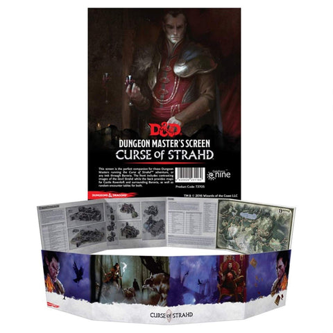 Dungeons & Dragons - Curse of Strahd DM Screen