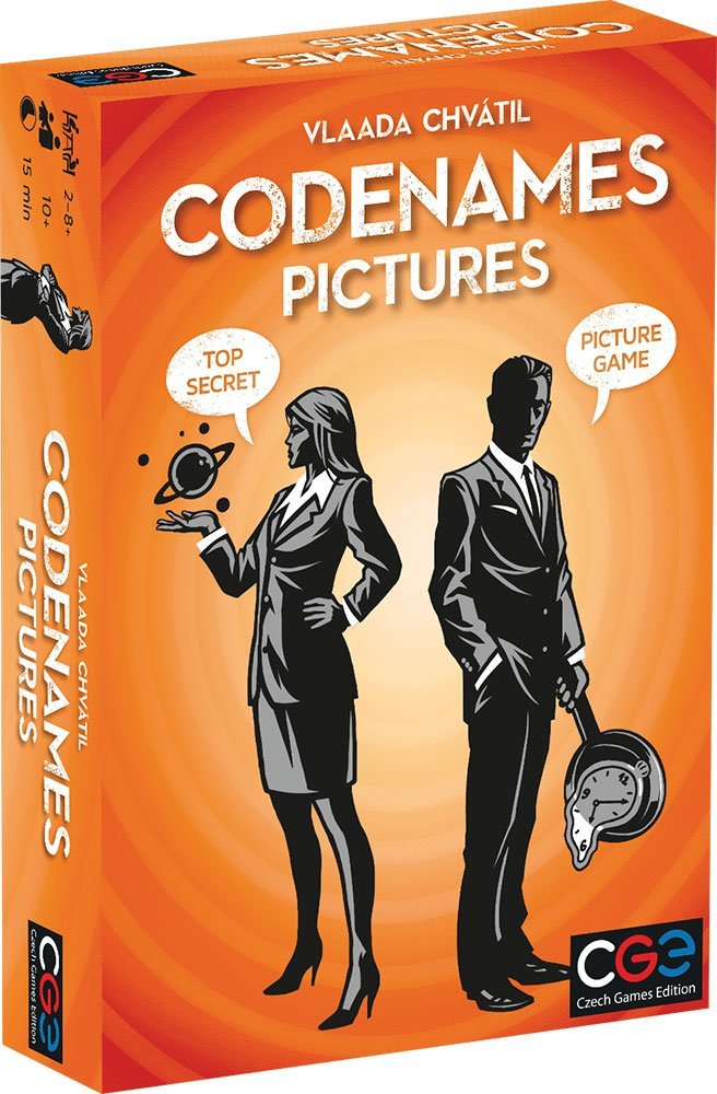 Codenames Pictures - Board Game - The Hooded Goblin