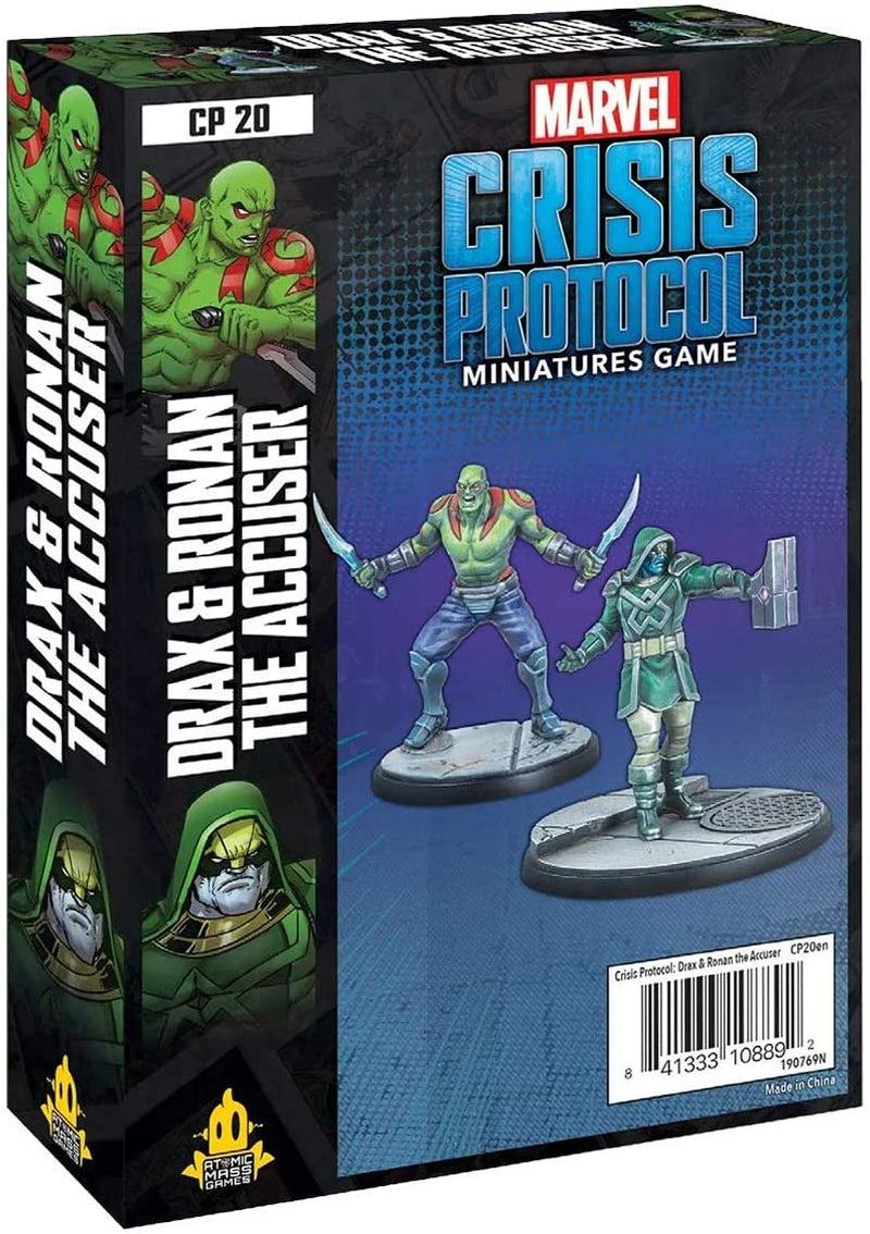 Crisis Protocol: Drax and Ronan The Accuser - Marvel Crisis Protocol - The Hooded Goblin