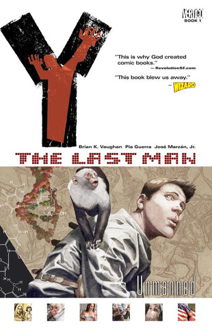 Y: The Last Man, Vol. 1: Unmanned Paperback