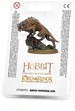 Wild Warg Chieftain - Middle Earth Strategy Battle Game - The Hooded Goblin