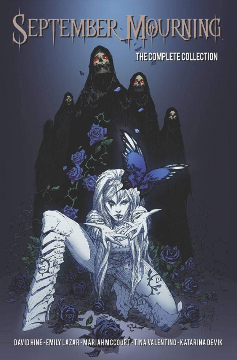 September Mourning: The Complete Collection Volume 1 - Graphic Novel - The Hooded Goblin