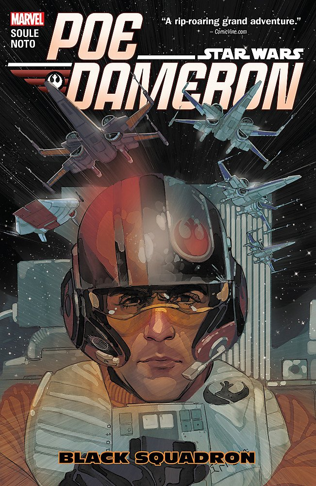 Star Wars: Poe Dameron Vol. 1: Black Squadron Paperback - Graphic Novel - The Hooded Goblin