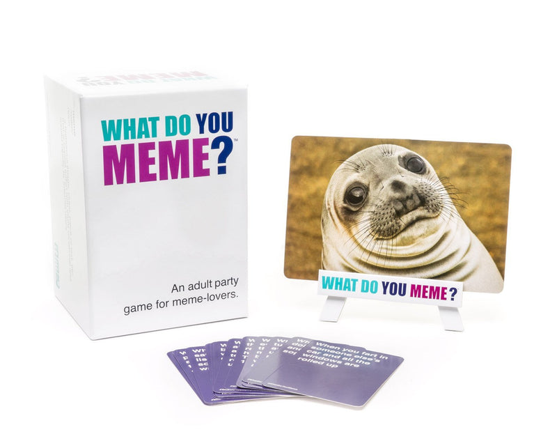 What do you Meme?: A Millennial Card Game For Millennials And Their Millennial Friends - Card Game - The Hooded Goblin