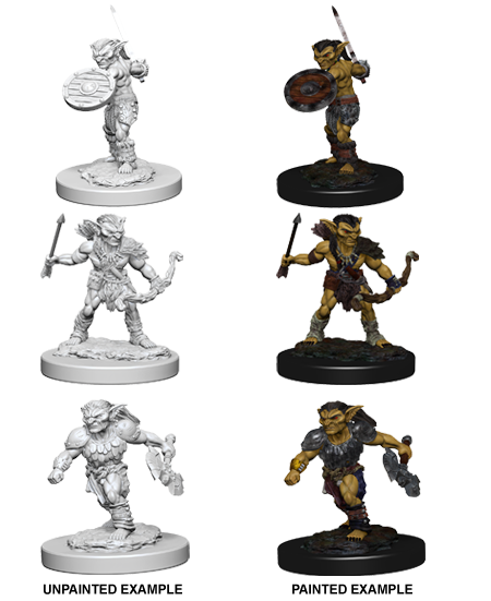 Dungeons & Dragons Nolzur's Marvelous Miniatures: Goblins - Roleplaying Games - The Hooded Goblin