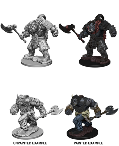 DND UNPAINTED MINIS WV 1 ORCS (144)