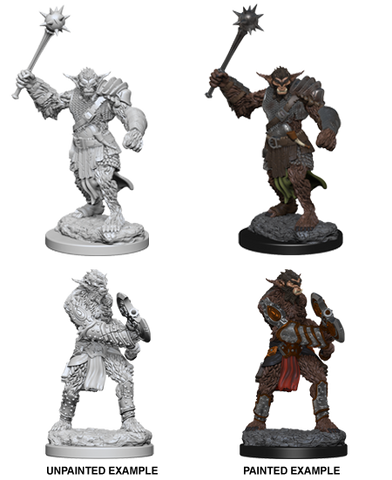 DND UNPAINTED MINIS WV 1 BUGBEARS (144)
