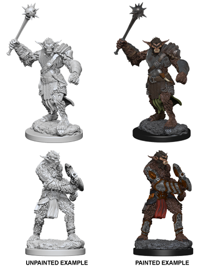 Dnd Unpainted Minis Wv 1 Bugbears (144) - Dungeons and Dragons - The Hooded Goblin