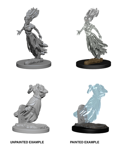 D&D Nolzur's Marvelous Unpainted Miniatures: Ghost & Banshee (2)