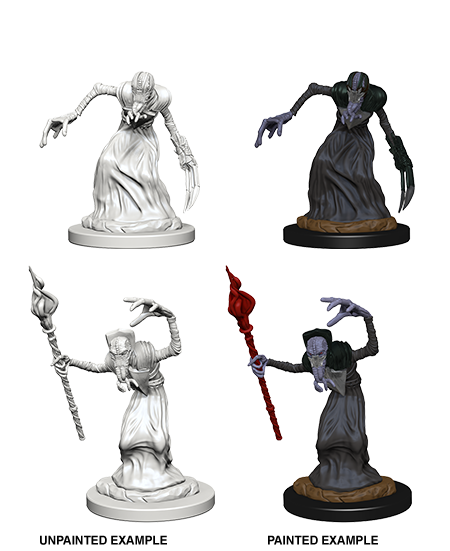 Dnd Unpainted Minis Wv 1 Mindflayers (144) - Roleplaying Games - The Hooded Goblin