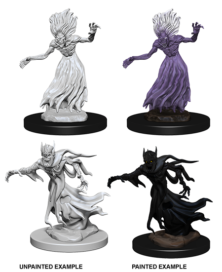 DND UNPAINTED MINIS WV 3 WRAITH AND SPECTER (144) - Roleplaying Games - The Hooded Goblin