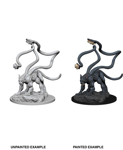 DND UNPAINTED MINIS WV 1 DISPLACER BEAST (144)