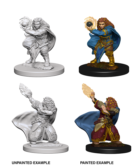 Dnd Unpainted Minis Wv 4 Dwarf Female Wizard (144) - Dungeons and Dragons - The Hooded Goblin