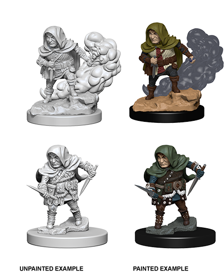 Dnd Unpainted Minis Wv 1 Halfling Male Rogue (144) - Roleplaying Games - The Hooded Goblin