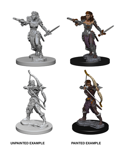 DND UNPAINTED MINIS WV 1 ELF FEMALE RANGER (144)