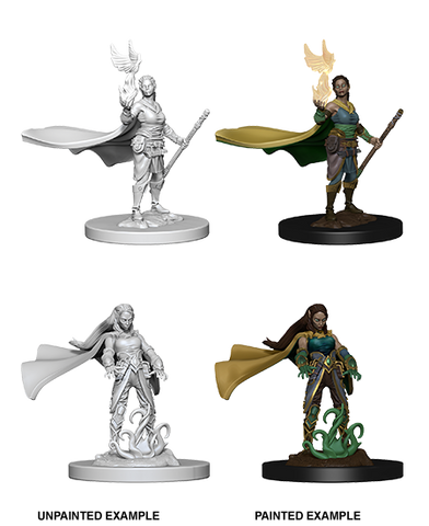 DND UNPAINTED MINIS WV 4 ELF FEMALE DRUID (144)