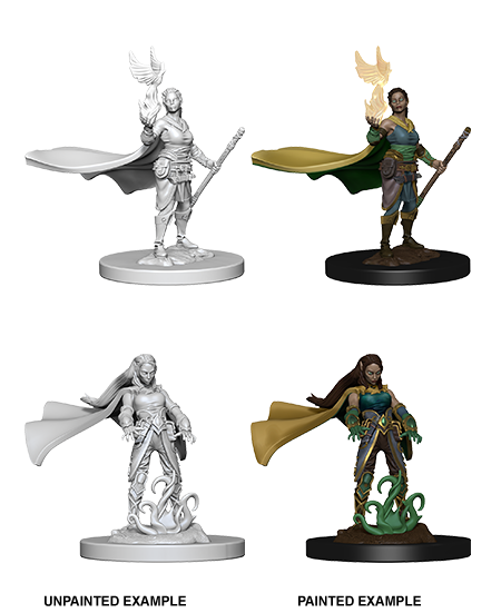 Dnd Unpainted Minis Wv 4 Elf Female Druid (144) - Roleplaying Games - The Hooded Goblin