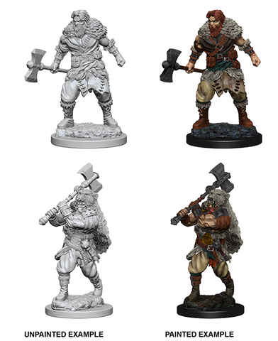 Dungeons & Dragons Nolzur's Marvelous Miniatures: Human Barbarian (Male)