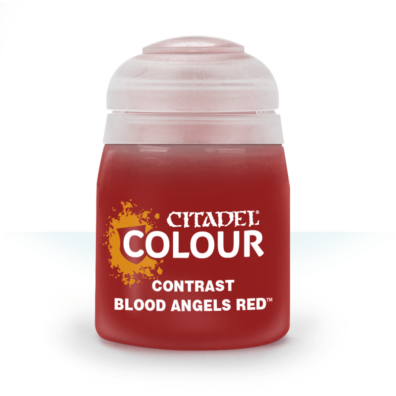 CONTRAST: BLOOD ANGELS RED (18ML) - Citadel Painting Supplies - The Hooded Goblin
