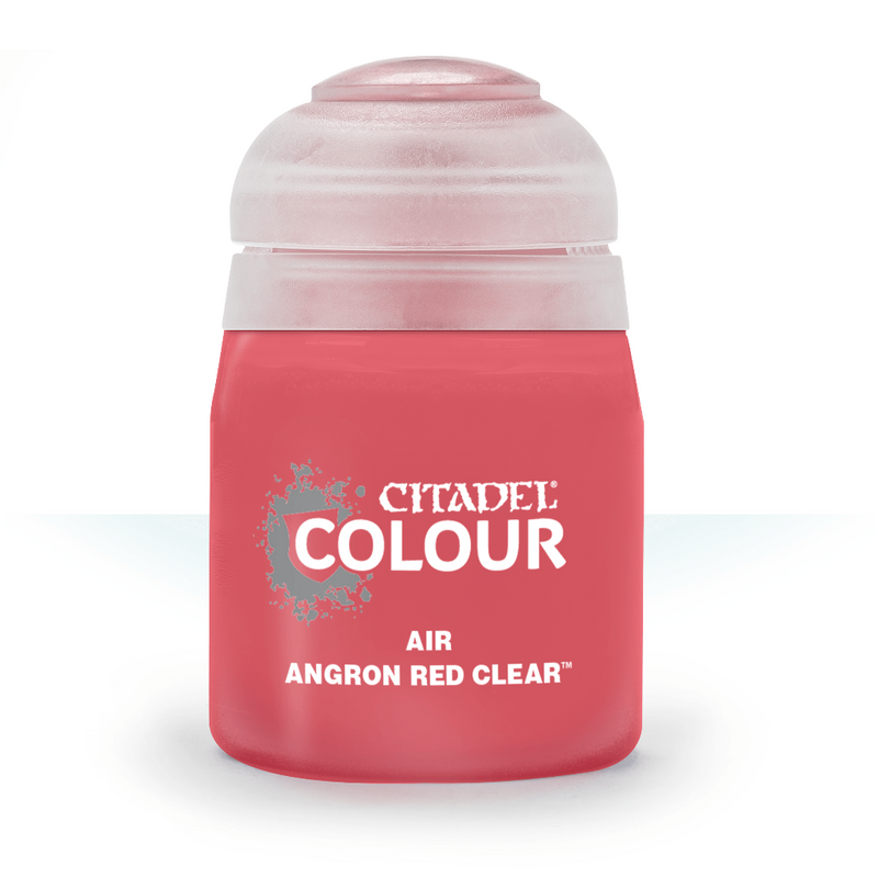 Air: Angron Red Clear (24Ml) - Citadel Painting Supplies - The Hooded Goblin