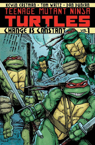 Teenage Mutant Ninja Turtles Volume 1: Change is Constant Paperback