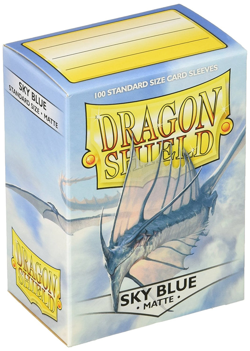 Dragon Shield Sky Blue (100 Count) - Card Supplies - The Hooded Goblin
