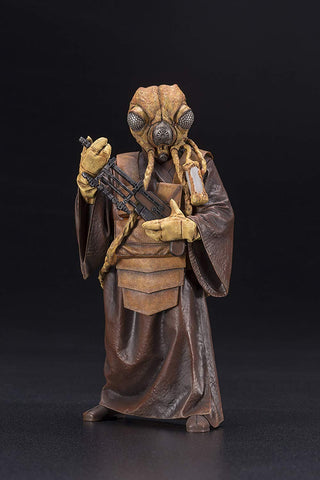 Kotobukiya Star Wars Bounty Hunter Zuckuss Artfx+ Statue